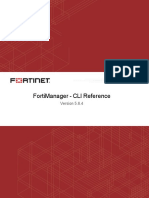 FortiManager 5.6.4 CLI Reference