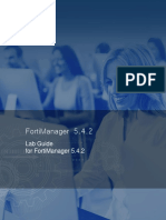 FortiManager Lab Guide-Online