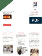Energía Sonora CIENCIA