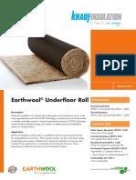 Earthwool® Underfloor Roll