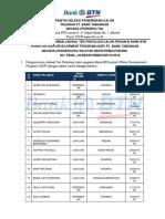 22 Pengumuman Tes Psikologi ODP Padang 130418
