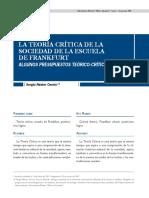 La teoría crítica de la sociedad de la esccuela de Frankfurt Algunos presupuestos teórico-críticos.pdf