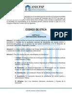 Código de Ética de ANECPAP a.C.