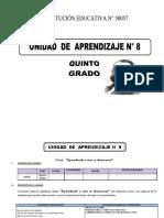 329766252 Unidad de Aprendizaje 5 de Ed Primaria Octubre 2016 Docx