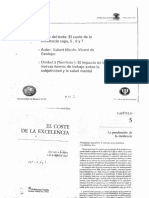Aubert, N. ; De Gaulejac, V. - El Coste de La Excelencia (Caps. 5, 6, 7 y 8)