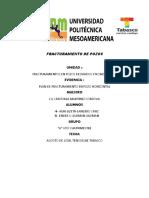 Unidad 4 Plan de Fracturamiento