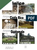 Sitios Arqueologicos de C.a. 2018