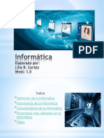 Informatica powert point
