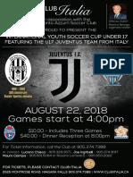 2018 - U17 Juventus Poster