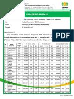 Announcement-extension of Membership Product Discount (27nov17 - 26june18)