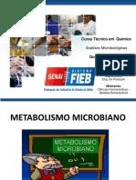 Aula 4 - Metabolismo Microbiano