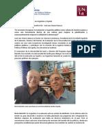 DiáLogos de Evaluación Entre Argentina y España