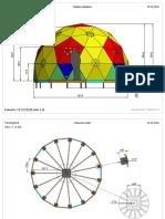 Geosota-free Geodome V3D5 50х50