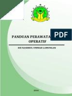 Panduan Perawatan Post Operatif - Revisi 1