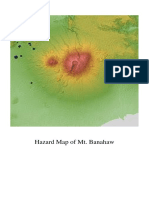 Hazard Map of Mt Banahaw