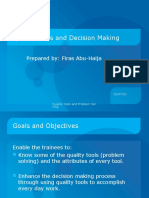 Quality Tools and Decision Making1