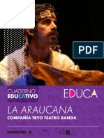 la araucana guion teatral