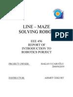 Line Maze Solving Robot