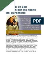 Oración de San Agustín por las almas del purgatorio.doc