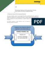 u7 m3 Narrativa 1 Elementos Basicos de La Narracion. Formas Narrativas Orales Escritas y Audiovisuales Lenguaje