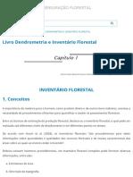Livro Inventário Florestal Cap1
