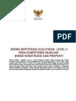 Skema Kualifikasi Level II  Bisnis Konsruksi dan Properti-.doc