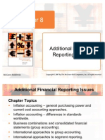 Chapter 08 International Accounting - Additional Financial  Reporting Issues
