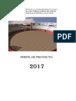Proyecto Plaza de Toros Santa Rosa