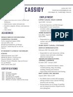 white minimalist academic resume  2