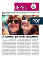 30 años de un semanario de emancipación femenina
