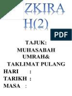Tazkirah 2 Muhasabah Umrah