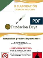 PPT Preparación de Productos a Base Cannabis
