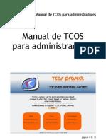 Manual Tcos Admins-es