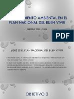 El Saneamiento Ambiental en El PLAN NACIONAL DEL