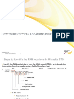 Fan Location in Nokia Bts