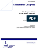 EU Security Energy