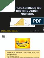 SEMANA 16 Aplicaciones de La Distribución Normal
