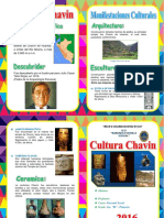 Diptico Cultura Chavin
