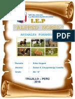 Animales Foraneos Del Perú