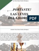 Armando Nerio Hanoi Guedez Rodríguez - ¡Importante! Las Leyes Del Ajedrez