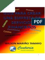 Libro Creacion de Una Empresa
