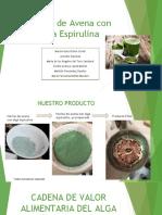 Harina de Avena Con Alga Espirulina