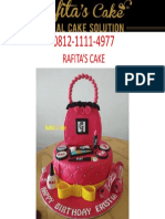 Kue Ulang Tahun Anak Custom, 0812-1111-4977