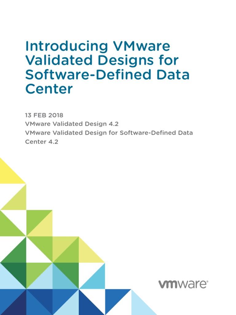 Vmware Validated Design 42 Sddc Introduction V Mware Cloud Computing
