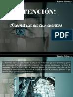 Ramiro Helmeyer - ¡Atención! Biometría en Tus Eventos