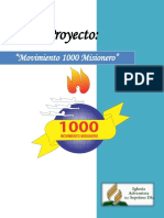 PLAN Movimiento 1000 Misionero 2016