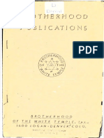 1940 Doreal Brotherhood Publications