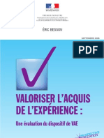Evaluation Du VAE