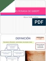 Pitiriasis Rosada de Gibert