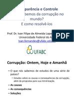 O que sabemos da corrupção no mundo?